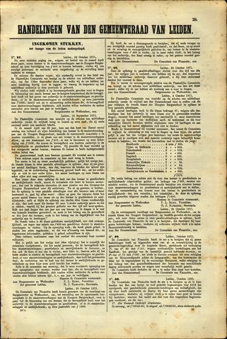 Handelingen van de Raad 1871-10-23