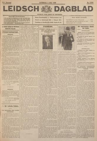 Leidsch Dagblad 1930-07-05