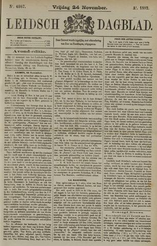 Leidsch Dagblad 1882-11-24