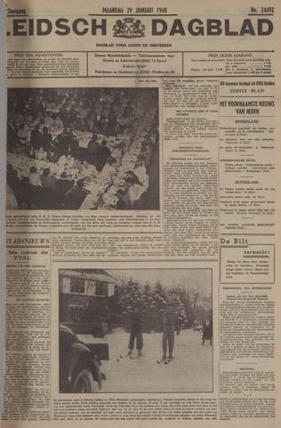 Leidsch Dagblad 1940-01-29
