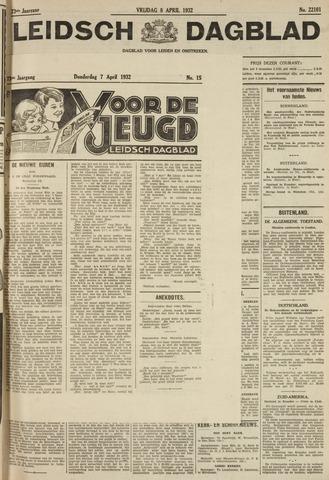 Leidsch Dagblad 1932-04-08