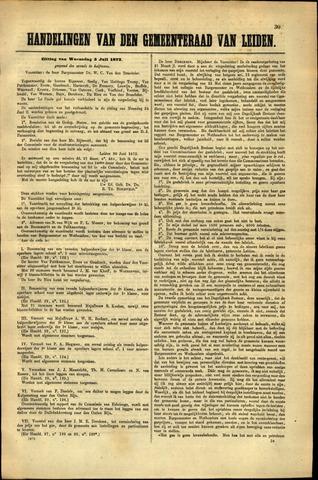Handelingen van de Raad 1872-07-03