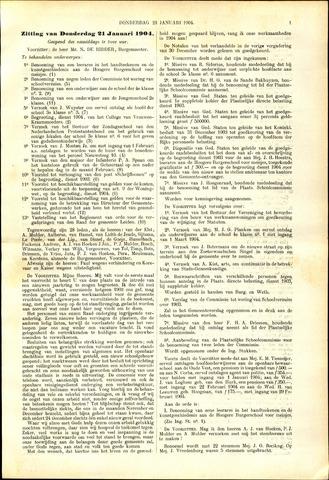 Handelingen van de Raad 1904-01-21