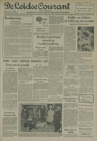 Leidse Courant 1962-10-20
