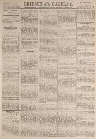 Leidsch Dagblad 1919-01-27
