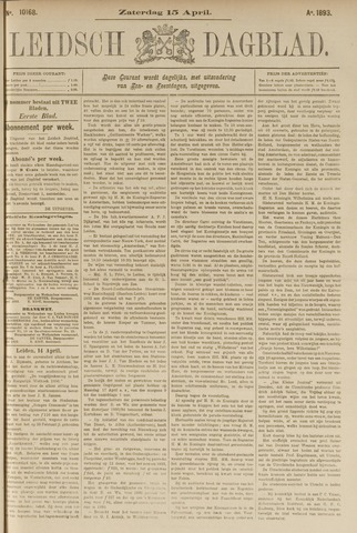 Leidsch Dagblad 1893-04-15