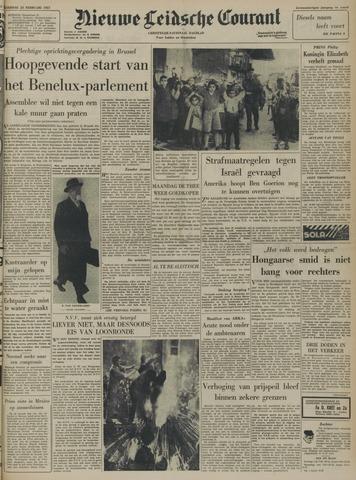 Nieuwe Leidsche Courant 1957-02-23