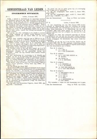 Handelingen van de Raad 1907-01-02