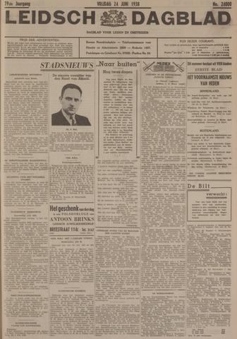 Leidsch Dagblad 1938-06-24
