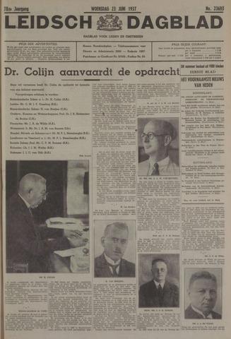 Leidsch Dagblad 1937-06-23