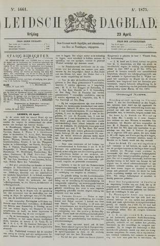 Leidsch Dagblad 1875-04-23