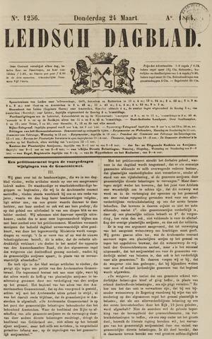 Leidsch Dagblad 1864-03-24