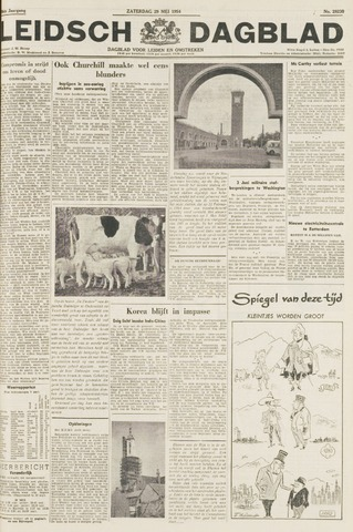 Leidsch Dagblad 1954-05-29