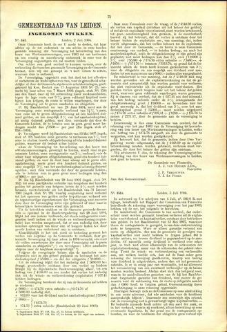 Handelingen van de Raad 1904-07-02