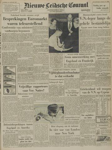 Nieuwe Leidsche Courant 1957-01-26