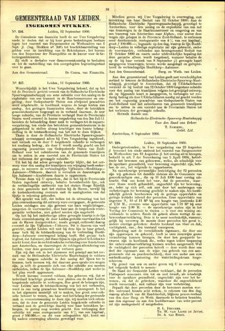 Handelingen van de Raad 1900-09-12
