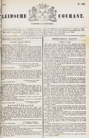 Leydse Courant 1879-10-22