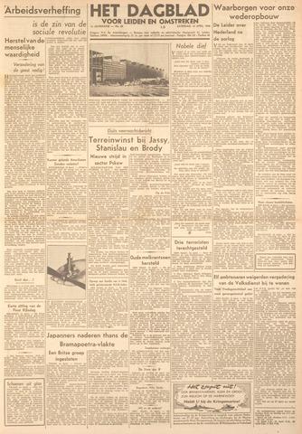Dagblad voor Leiden en Omstreken 1944-04-15