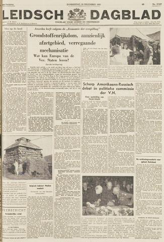 Leidsch Dagblad 1951-12-20