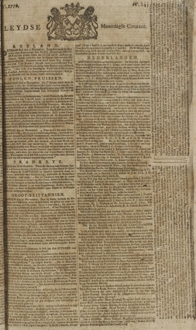 Leydse Courant 1770-12-03