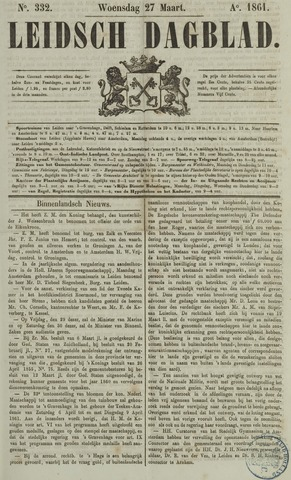 Leidsch Dagblad 1861-03-27