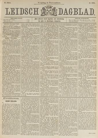 Leidsch Dagblad 1894-11-02
