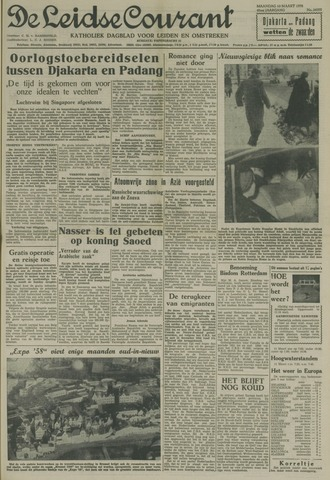 Leidse Courant 1958-03-10