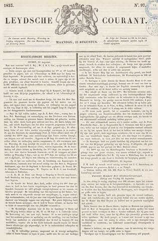 Leydse Courant 1853-08-15