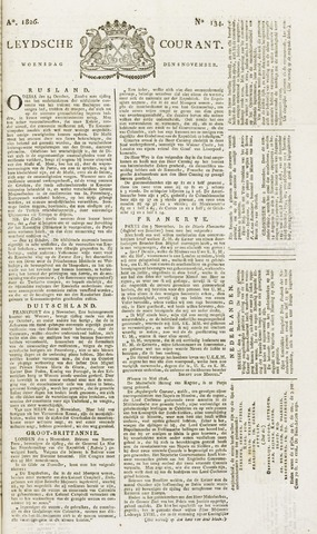 Leydse Courant 1826-11-08