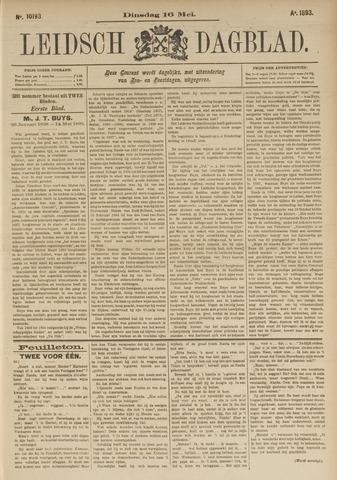 Leidsch Dagblad 1893-05-16