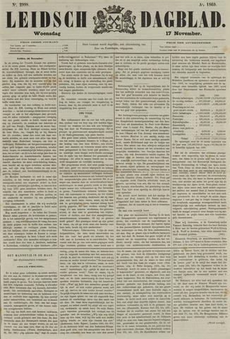 Leidsch Dagblad 1869-11-17