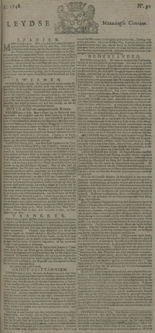 Leydse Courant 1748-07-29
