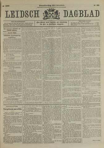 Leidsch Dagblad 1911-10-19