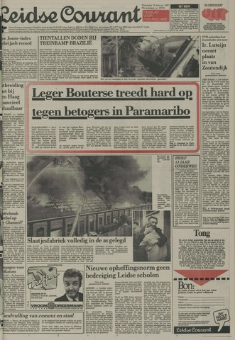 Leidse Courant 1987-02-18