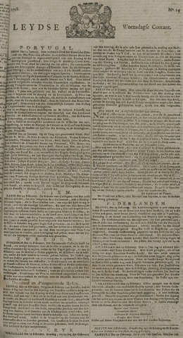Leydse Courant 1728-02-27