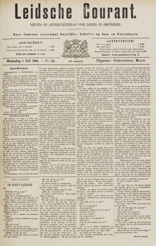 Leydse Courant 1885-07-01