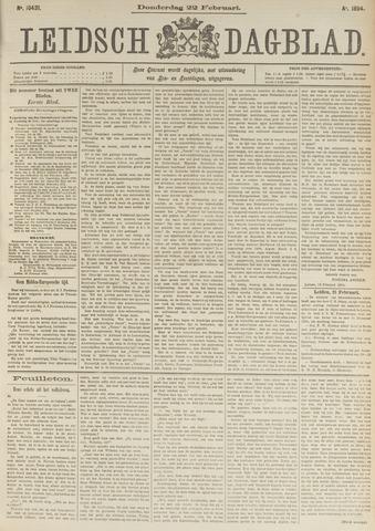 Leidsch Dagblad 1894-02-22