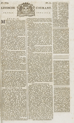 Leydse Courant 1825-07-22