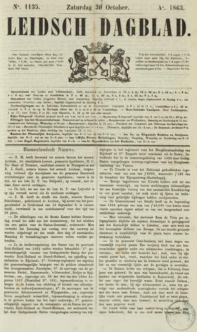Leidsch Dagblad 1863-10-31