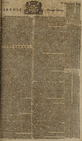 Leydse Courant 1751-03-05