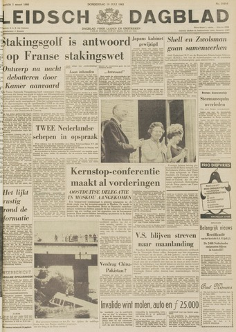 Leidsch Dagblad 1963-07-18