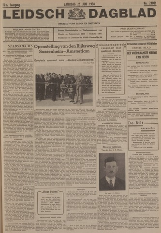 Leidsch Dagblad 1938-06-25