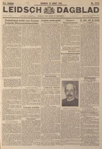 Leidsch Dagblad 1942-03-30