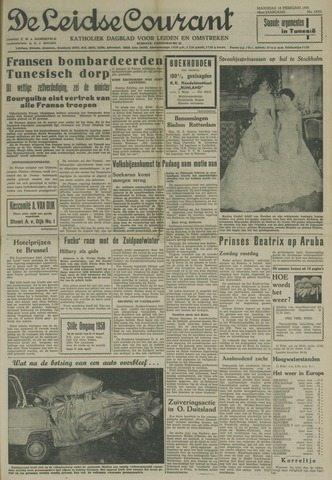 Leidse Courant 1958-02-10