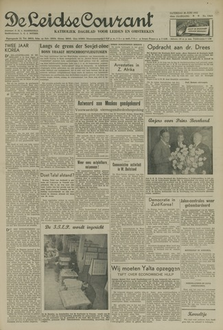 Leidse Courant 1952-06-28