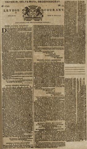Leydse Courant 1795-03-20