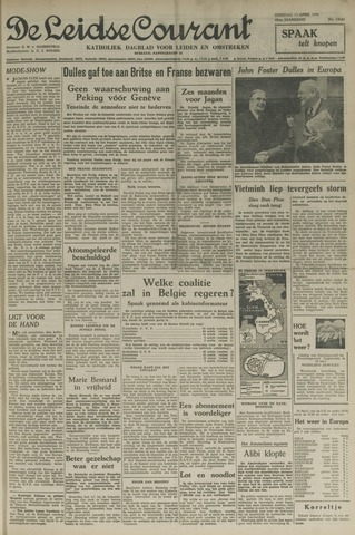 Leidse Courant 1954-04-13