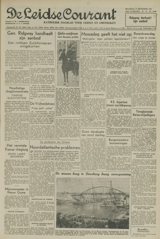 Leidse Courant 1951-09-17