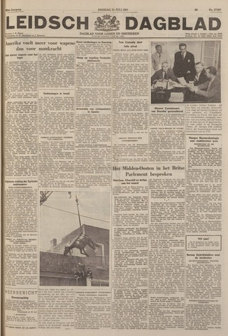 Leidsch Dagblad 1951-07-31