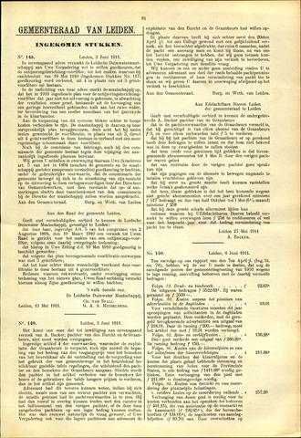 Handelingen van de Raad 1911-06-03
